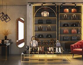 3D model Shop design accessories