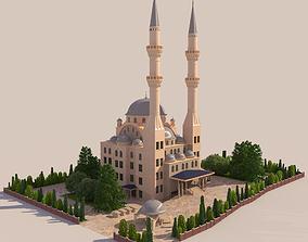 MOSQUE - HI RES 3D model