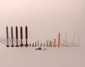 Screws and Nails HD V2 3D