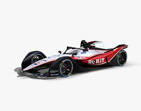 Venturi Formula E 2020 3D asset