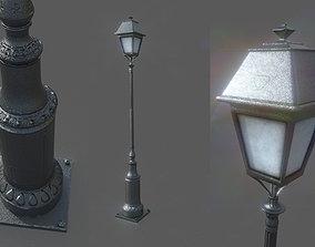 3D asset Lampost