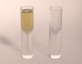 3D DESIGN-Glass Champagne V2
