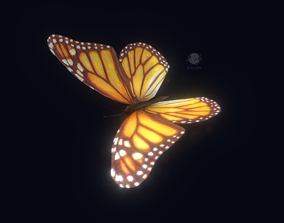 3D model Butterfly Game Ready