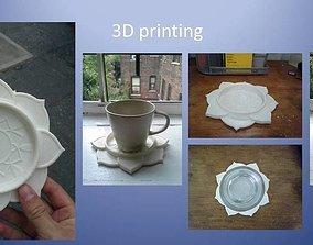 Mandala Coaster 3D print model