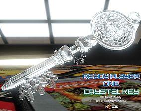 Ready Player 1 Crystal Key 3D printable model