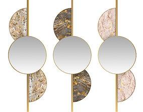 3D model mirror 03 beautiful