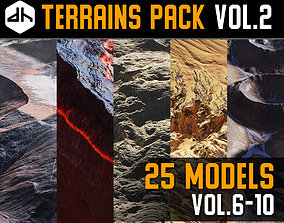 3D Terrains Pack Vol 2