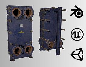Old russian big Heat Exchanger 3D model