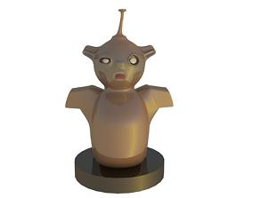 Boogy Man Funny Bunny Statue 3D model