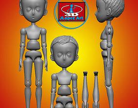 3D printable model Marioneta nene anime 001 Anime boy 3