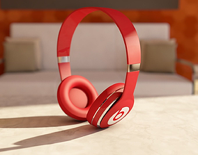 3D model Beats Solo Headphone