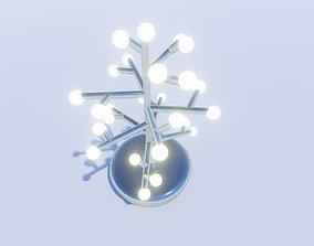 3D printable model DIY tree lamp