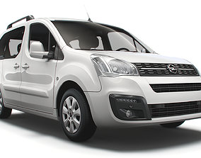 Opel Combo Life RU spec L1 2021 3D