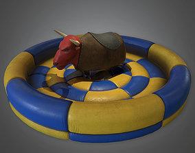 3D model Rodeo Bull Dive Bar - PBR Game Ready
