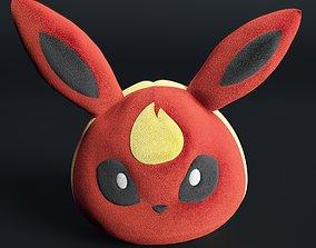 flareon pokemon kids 3D
