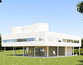 3D model Villa Savoye - Le Corbusier