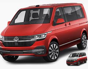 VW Multivan and Bulli T61 2020 3D model