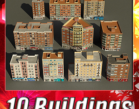 Building Collection 71 - 80 3D model
