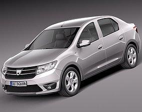 Dacia Logan 2013 3D