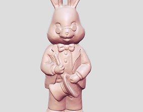3D printable model Rabbit gentleman