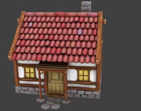 building Simple House 3D asset realtime