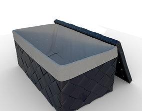 3D Wicker box