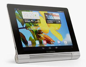3D asset Lenovo Yoga Tablet 8