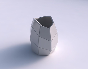 3D print model Bowl compressed with huge plates