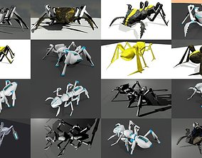 3D Robots insects