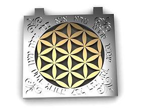 Kabbalah Pendant Anna Bekoah Flower of Life 3D print model