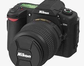 3D model Nikon-D90