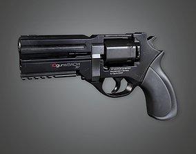 3D asset FPS Modern Handgun - MHG - Bach - PBR Game Ready