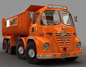 Foden S21 Hoveringham Tipper Truck 1962 3D model
