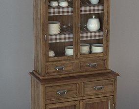 3D Old rustic cupboard
