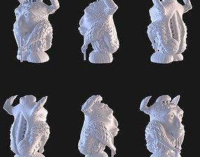 Stuffed Gargoyle 3D printable model