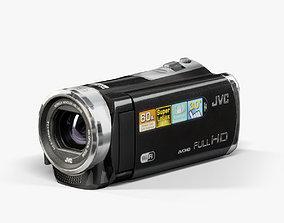3D asset JVC EX310 camcorder