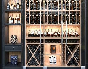 3D brand Wine cabinet 2