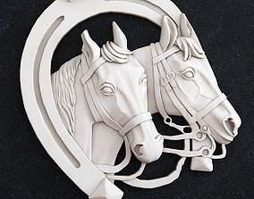 3D printable model Horse Head horseshoe
