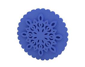 3D print model cutter Cookie stamp