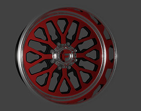 Fuel Forged FF45 wheel 3D print model