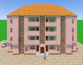 3D printable model Block of flats