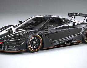 McLaren 720S GT3X 2021 3D model