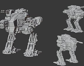 Battle robot 3D printable model