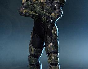 SCI FI Armor 3D model