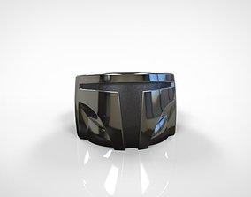 3D printable model The Mandalorian inspired ring