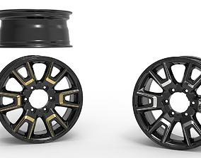 Asena rim design and 3D printable model