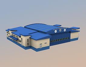 3D asset WBKK Police station Kota Kinabalu