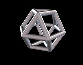 3D printable model 016 Mathart - Archimedean Solids - 4