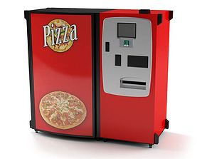Pizza Maker Machine 3D model