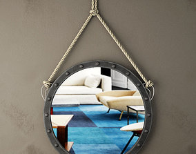 3D model Harper Wall Mirror